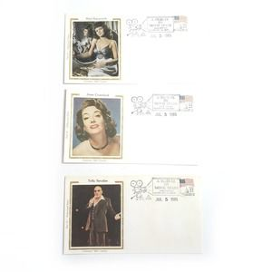 Vintage   Hollywood Stars First Day Covers